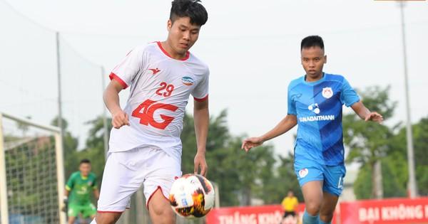 Sao trẻ U23 lập công, Viettel vẫn để Phố Hiến cầm hòa 1-1 trong ngày khai mạc giải U21 Quốc gia