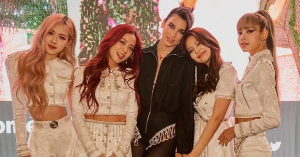 """Fan sướng rơn khi Dua Lipa gọi BlackPink là """"nữ hoàng"""" và dành hàng loạt lời khen có cánh cho girlgroup của YG"""
