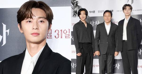 Chẳng may lọt vào khung hình với Park Seo Joon, tài tử ''con nhà giàu'' vạn người mê bỗng hóa bạch tuộc, nấm lùn