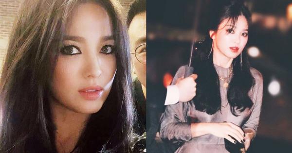 Ngoại hình khác lạ và táo bạo của ''bánh bèo thoát xác'' Song Hye Kyo gần đây hình như lấy cảm hứng từ người tình?