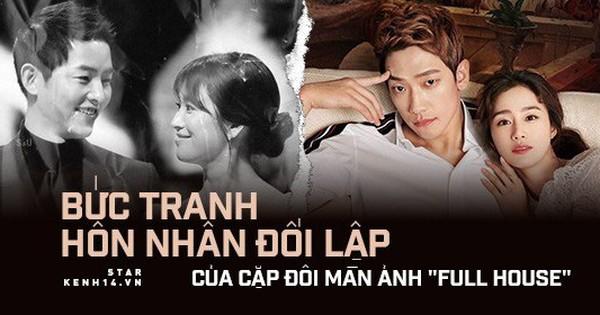 Bức tranh hôn nhân đối lập của cặp đôi ''Full House'': Song Song vỡ tan, Bi Rain và Kim Tae Hee con cái đuề huề