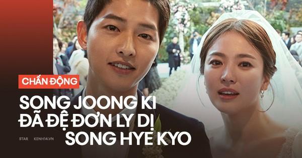 SIÊU CHẤN ĐỘNG: Song Joong Ki chính thức đệ đơn ly dị Song Hye Kyo vào hôm qua!