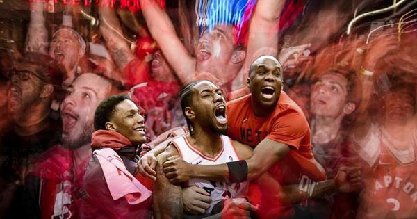 Lọt vào NBA Finals, ''Khủng long phương Bắc'' tạo nên cơn sốt tại quê nhà Canada