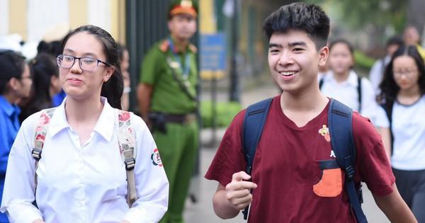 Đáp án chính thức các môn thi vào lớp 10 năm 2019 của Sở GD&ĐT Hà Nội