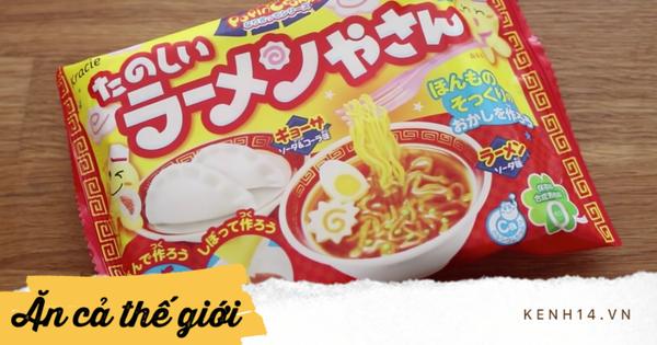 Kẹo ramen kì lạ bán chạy ở Nhật Bản khiến nhân sinh quan về mì gói 'sụp đổ'
