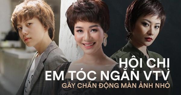 7 nữ nhân tóc ngắn của nhà VTV: Số 1 là chị vợ quốc dân gây mê hoặc với màn đánh ghen sang nhất vũ trụ!