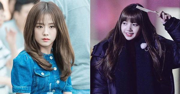 """Giống như Lisa, """"đỉnh cao visual"""" như Jisoo cũng phải kè kè chiếc lược để giữ được kiểu tóc hoàn hảo"""
