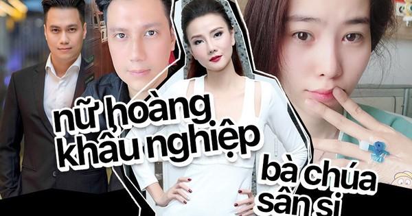Chơi Facebook như Dương Yến Ngọc: Hết ''bắt mạch online'' phán Nam Em trầm cảm, lại trổ tài xem tướng cho Việt Anh khi thẩm mỹ