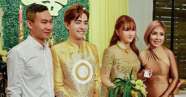 Trọn vẹn lễ Vu quy của ca sĩ Thu Thủy: Cô dâu e ấp bên bạn đời kém 10 tuổi, hạnh phúc nhận lời chúc của hai bên gia đình