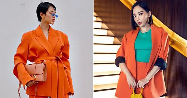 Cùng là 1 trang phục siêu khó nhằn: Tóc Tiên chơi màu cao tay mà Khánh Linh phối đồ cũng chuẩn