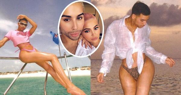 Chục ngàn người ''đổ rạp'' trước body bốc lửa của nam chuyên gia make up cho Kylie: Chị em Kardashian chắc sẽ phải kiêng dè