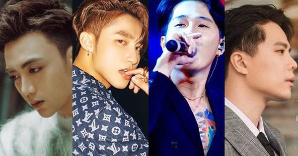 Đồng loạt tung sản phẩm trở lại, thứ hạng Top Trending của loạt mỹ nam đình đám nhất nhạc Việt hiện tại ra sao?