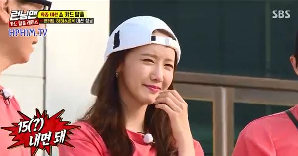 Khổ thân Yoona (SNSD), đi ''Running Man'' bị ướt tèm lem còn phải mất thêm tiền!