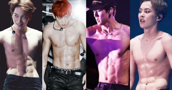 Sau 7 năm, cả dàn trai đẹp EXO giờ ai cũng lột xác với body 6 múi cực phẩm, duy nhất D.O. mãi chỉ là ''bụng nước lèo''