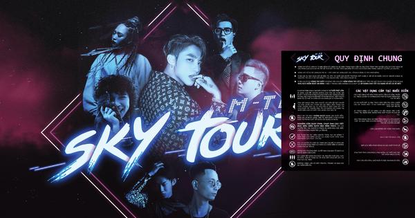 Loạt quy định gắt gao khi đi xem ''Sky Tour'' của Sơn Tùng M-TP: Căng đét chẳng khác ngôi sao quốc tế