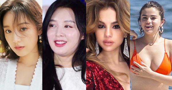 Sao nữ nhan sắc lên xuống như tàu lượn: Nữ thần ''Hậu duệ mặt trời'' khổ sở vì tăng cân, Selena lại được cảm thông