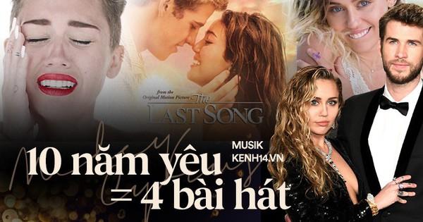 Muốn biết chuyện tình của Miley Cyrus - Liam Hemsworth thăng trầm ra sao, nghe 4 bài hát này là đủ cho 10 năm!