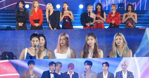 Soribada 2019 ngày 1: Tất cả nghệ sĩ YG và SM nhận giải ''tay trắng'', TWICE ẵm Daesang và loạt giải thưởng trên trời dưới đất không hiểu đâu ra