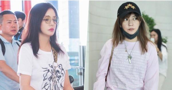 Triệu Vy bị chê luộm thuộm như bà thím tại sân bay: nguồn cơn chỉ vì kiểu tóc