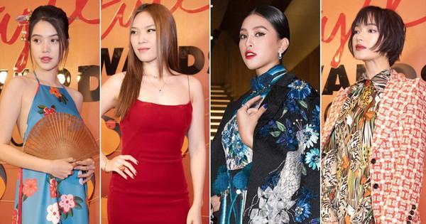 Thảm đỏ Elle Style Awards: chị đại Mỹ Tâm giản đơn giữa những đàn em ''chặt chém'' như Tiểu Vy, Jolie Nguyễn, Châu Bùi