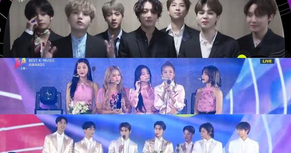 Tổng kết Soribada 2019: Có đến... 7 nghệ sĩ giành Daesang, 100% nghệ sĩ đi đều có ''phần'' mang về!