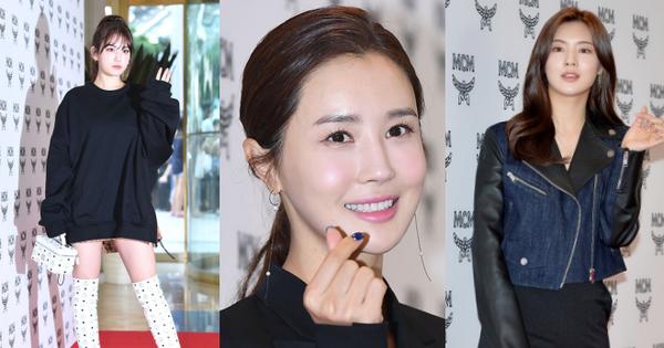 Nữ thần lai nhà YG đầy sang chảnh, Lee Da Hae mặt cứng đờ bên bạn gái Lee Kwang Soo và dàn sao xứ Hàn tại sự kiện