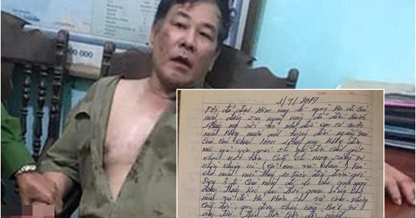 Xác minh bức thư ''hàng năm nay không dám dùng dầu gội, không dám nạp điện thoại'' được cho là của nghi phạm truy sát cả nhà em gái