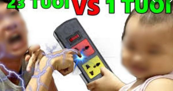 """Dân mạng đồng loạt ném đá Kênh Youtube có video cho trẻ em 1 tuổi """"troll"""" người lớn bằng cách sờ tay vào ổ điện"""