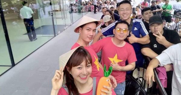 Từ Singapore: Cô gái Việt số thứ tự 01 kể hành trình xếp hàng 30 tiếng ''săn'' iPhone 11