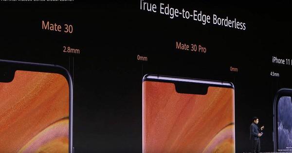 Huawei ''dìm hàng'' iPhone 11 Pro Max và Galaxy Note 10+ tại sự kiện ra mắt Mate 30 Pro như thế nào?