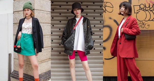 Street style giới trẻ Việt: Đã lên đồ siêu cool, các bạn trẻ còn pose ''chất'' quá trời quá đất, chẳng thua fashion icon nào