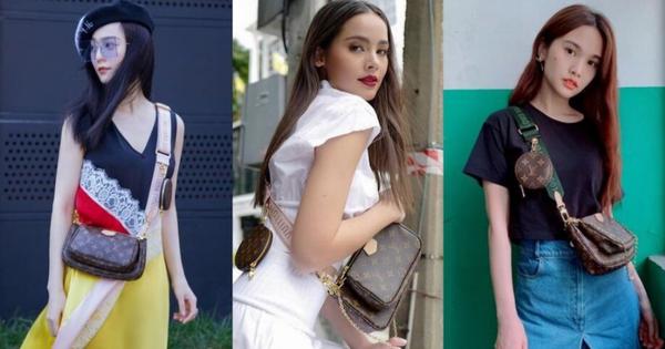 Mua 1 được hẳn 3 lại mix thế nào cũng đẹp, đây đang là chiếc túi hàng hiệu được các fashionista khắp muôn nơi mê tít