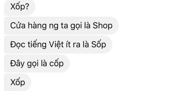 Xôn xao đoạn chat gọi nhầm ''shop'' thành ''xốp'' khi hỏi mua áo đôi, cô gái ''tái mặt'' với phản hồi của chủ cửa hàng