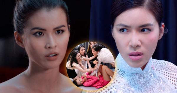 ''Hoa Hậu Giang Hồ'' phơi bày hậu trường đẫm máu: Minh Tú ''vả'' Cao Thiên Trang không trượt phát nào vì dám chơi xấu!
