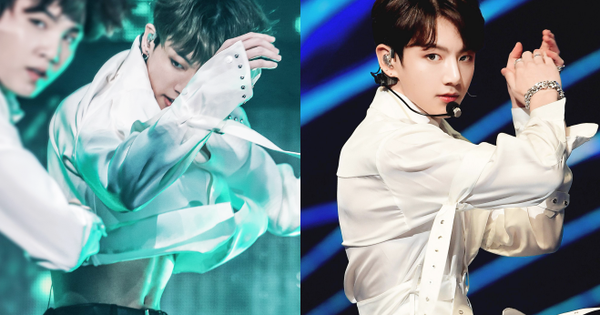 Xuất hiện nam idol Kpop có vòng eo con kiến nhỏ đến mức đọ được với BLACKPINK, tưởng lạ hóa ra là em út BTS