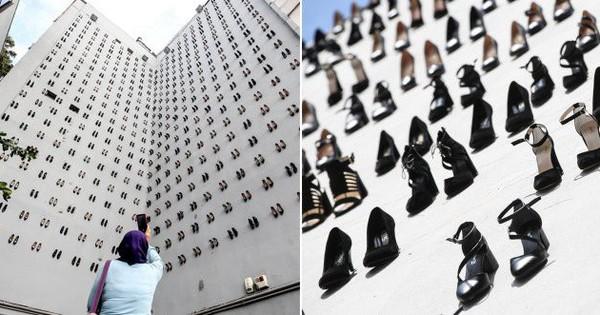 Sự thật đau lòng về số phận người phụ nữ đằng sau hình ảnh 440 đôi giày cao gót được gắn lên tường ở Thổ Nhĩ Kỳ