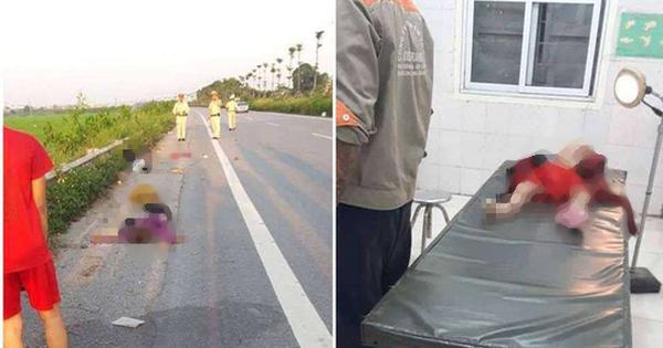 Vụ tai nạn làm 3 mẹ con tử vong, người bố bị thương nặng ở Hà Nội: Có khả năng xe máy tự ngã