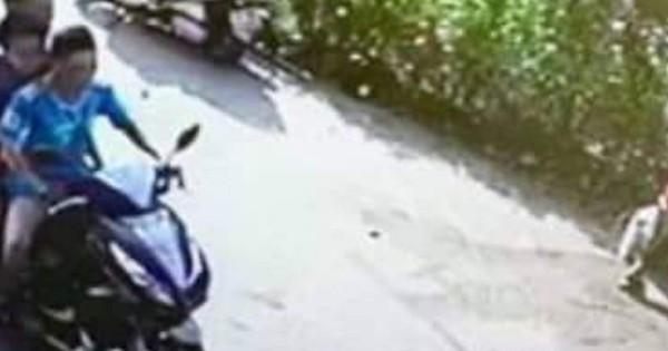 Công an truy tìm xe máy ''kẹp 3'' gây tai nạn nghiêm trọng rồi bỏ trốn
