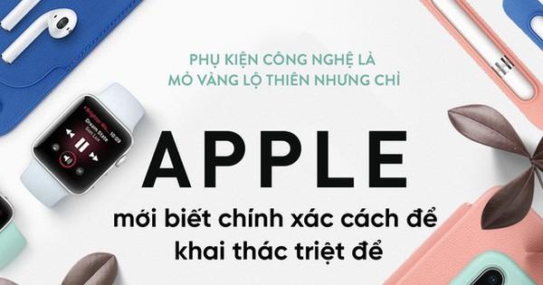 Đây là mỏ vàng lộ thiên trong giới công nghệ, nhưng chỉ Apple mới biết cách khai thác