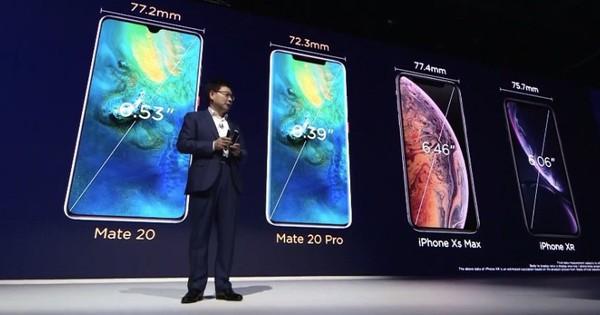 Sợ bị lép vế, Huawei cho ra mắt Mate 30 Pro trước khi iPhone 11 lên kệ