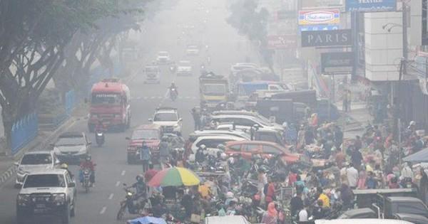 Indonesia: Chất lượng không khí của ''thủ đô khói mù'' xuống thấp kỷ lục