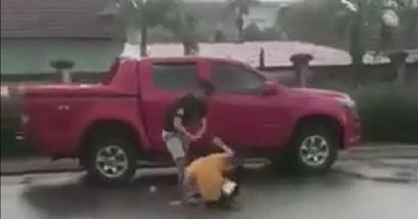 Hà Tĩnh: Cựu cán bộ công an đánh vợ cũ dã man tại sân bệnh viện
