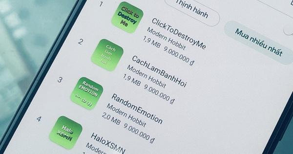 Ứng dụng rác ''hét giá'' tận 9 triệu đồng tràn ngập Play Store Việt Nam, chủ nhân thu lời hàng trăm triệu?
