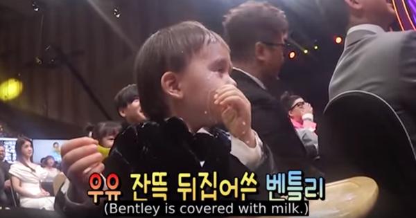 Sao nhí 3 tuổi của show thực tế Hàn tinh nghịch bị sữa bắn lên mặt nhưng phản ứng sau đó mới gây bất ngờ!