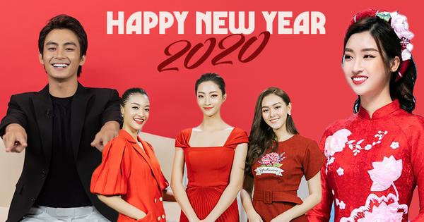 Clip Trường Giang, dàn Hoa hậu và sao Vbiz rộn ràng chúc xuân Canh Tý 2020: Sức khoẻ, thành công cùng ngàn câu chúc tốt lành!