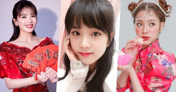 Dàn sao châu Á đón Tết: Jisoo mặc hanbok, Lisa khoe ảnh sexy, Baifern siêu nhắng còn Dương Mịch lại lo lắng không thôi