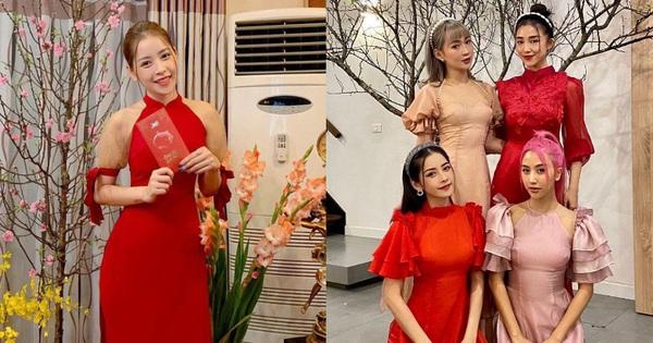Style áo dài Tết của sao Việt năm ngoái – năm nay: Người thay đổi in ít, người diện màu y chang năm cũ