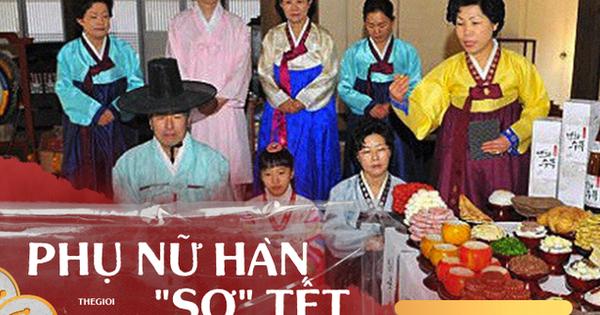 Tết với phụ nữ Hàn là những ngày làm việc tăng ca nhiều...