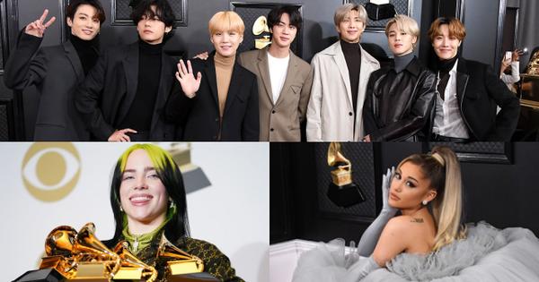 Bất chấp việc BTS lần đầu trình diễn, Billie Eilish viết nên lịch sử, ratings của Grammy 2020 vẫn rớt xuống thấp thứ nhì trong lịch sử!