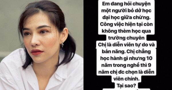 Tư vấn chuyên học hành, Lưu Đê Ly đáp: Chẳng học hành gì mà 10 năm hết 9 năm được làm diễn viên chính nè!